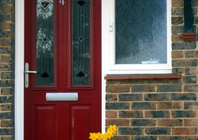 Red finish SOLIDOR and side window