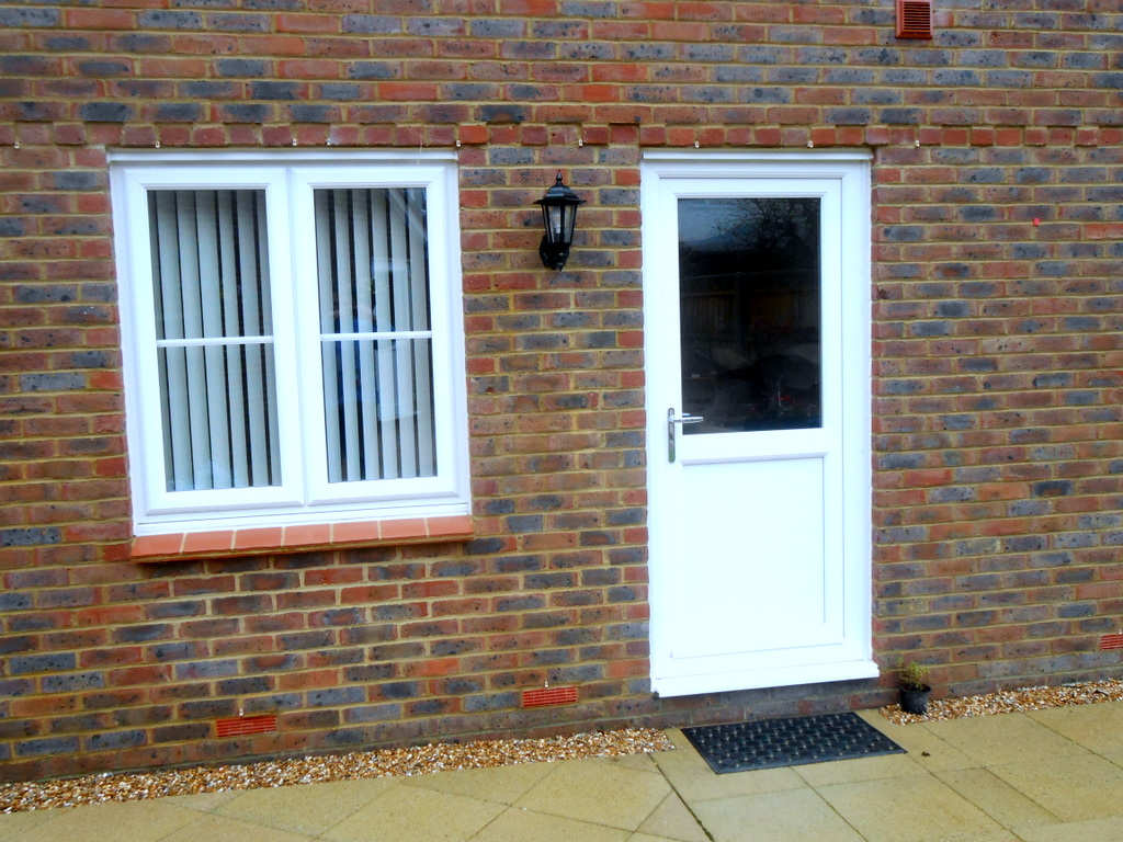 Upvc windows countryman for White back door